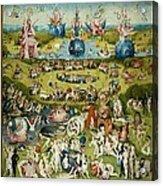 The Garden Of Earthly Delights Acrylic Print