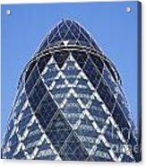 The Gherkin Building In London England Acrylic Print