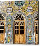 The Golestan Palace In Tehran Iran Acrylic Print
