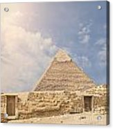 The Great Pyramid Acrylic Print
