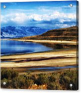 The Great Salt Lake Acrylic Print