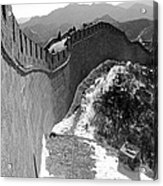 The Great Wall Of China Acrylic Print