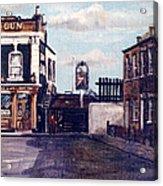 The Gun Public House Isle Of Dogs London Acrylic Print