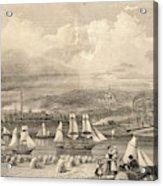 The Haematite Ironworks, Barrow Acrylic Print