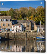 The Inner Harbour At Padstow Acrylic Print