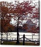 The Jefferson Memorial Acrylic Print