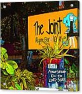 The Joint Acrylic Print