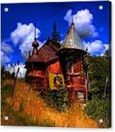 The Junk Castle Acrylic Print