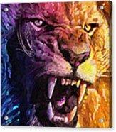 The Lion King Acrylic Print