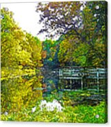 The Lake... Acrylic Print