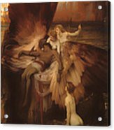 The Lament For Icarus Acrylic Print