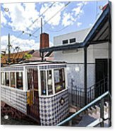 The Lavra Funicular Acrylic Print