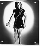 The Lone Wolf In London, Evelyn Ankers Acrylic Print