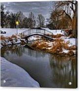 The Lonely Bridge Acrylic Print