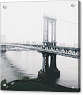 The Manhattan Bridge Acrylic Print