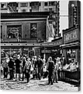 The Market At Pike Place Acrylic Print by David Patterson