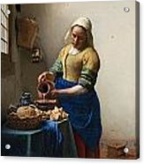 The Milkmaid Acrylic Print