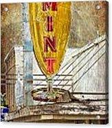 The Mint Acrylic Print