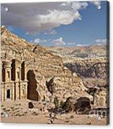 The Monastery El Deir Or Al Deir Acrylic Print