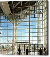 The New Kaohsiung Exhibition Center Acrylic Print by Yali Shi