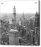 The Ny Financial District Acrylic Print