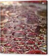 The Oil Spots Acrylic Print