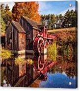 The Old Grist Mill Acrylic Print