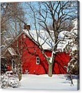 The Old Red House Acrylic Print