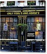 The Only Fool's And Horse's Acrylic Print