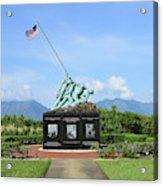 The Pacific War Memorial On Marine Acrylic Print