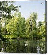 The Pool Central Park Acrylic Print