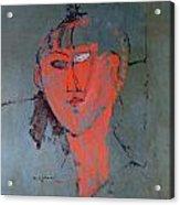The Red Head Acrylic Print