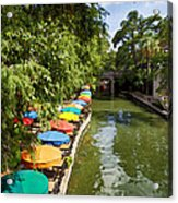 The River Walk Acrylic Print