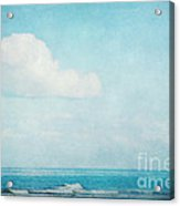 The Sea Acrylic Print by Angela Doelling AD DESIGN Photo and PhotoArt