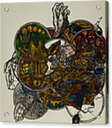 The Secret  Acrylic Print by Nickolas Kossup