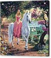 The Secret Trail Acrylic Print