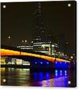 The Shard And London Bridge Acrylic Print