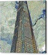 The Shard London Art Acrylic Print