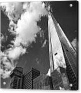 The Shard London Acrylic Print by Ed Pettitt