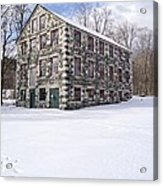 The Stone Mill At The Enfield Shaker Museum Acrylic Print