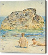 The Sunbathers Acrylic Print