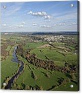 The Sèvre River, Tiffauges Acrylic Print