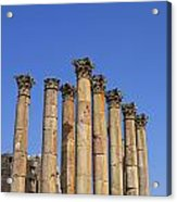 The Temple Of Artemis At Jerash Jordan Acrylic Print