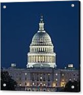 The United States Capitol Building Acrylic Print
