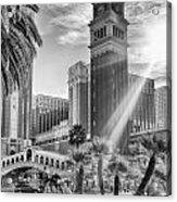The Venetian Resort Hotel Casino Acrylic Print