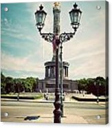 The Victory Column In Berlin Germany Acrylic Print