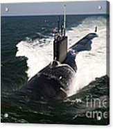 The Virginia-class Attack Submarine Uss Acrylic Print