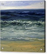 The Waves Acrylic Print