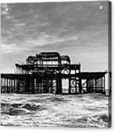 The West Pier In Brighton Acrylic Print