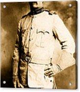 Theodore Roosevelt 1898 Acrylic Print
